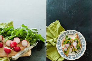 avocado toast food photography by allison jacobs