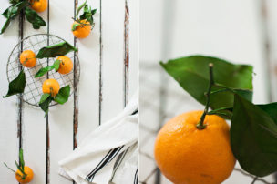 satsuma oranges and juice food photography by allison jacobs
