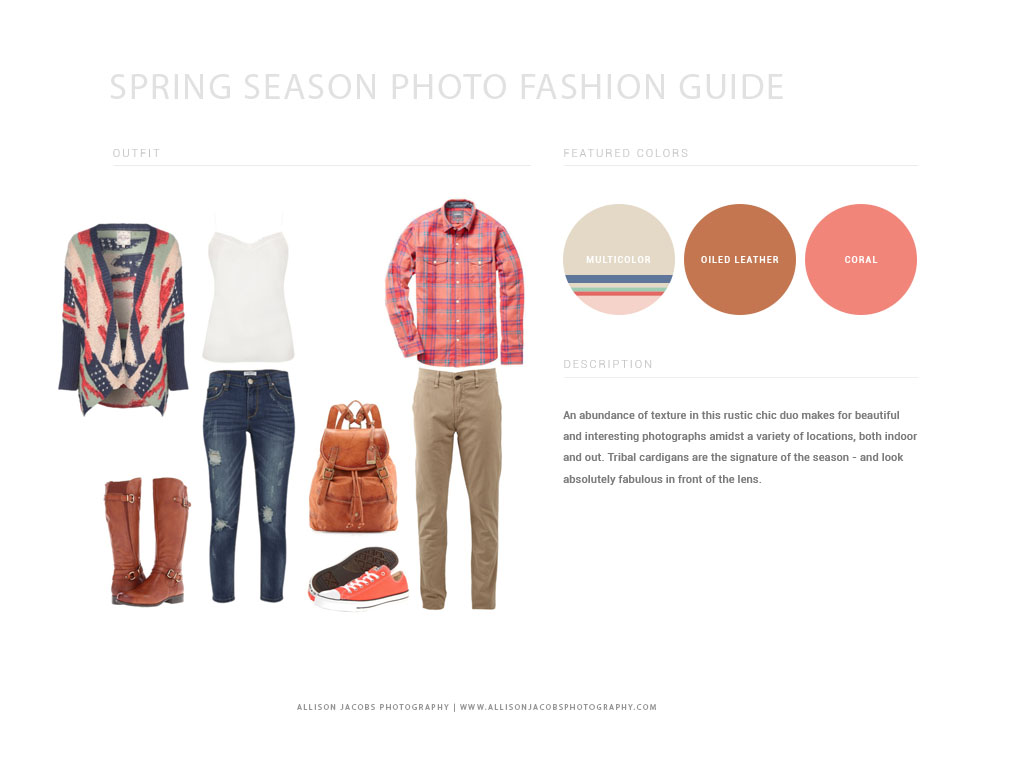 Outfit Ideas For What To Wear In The Spring Season
